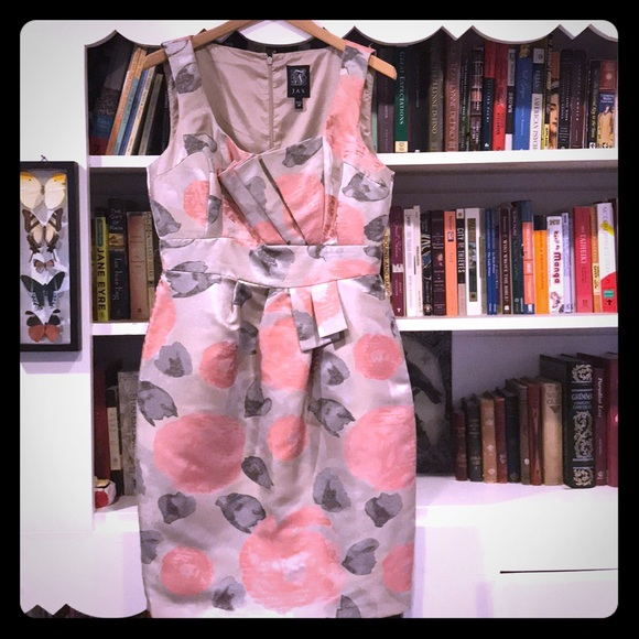 Jax Dresses & Skirts - Pink and Gray Architectural Dress